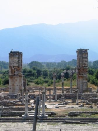 Cathedral in Philippi