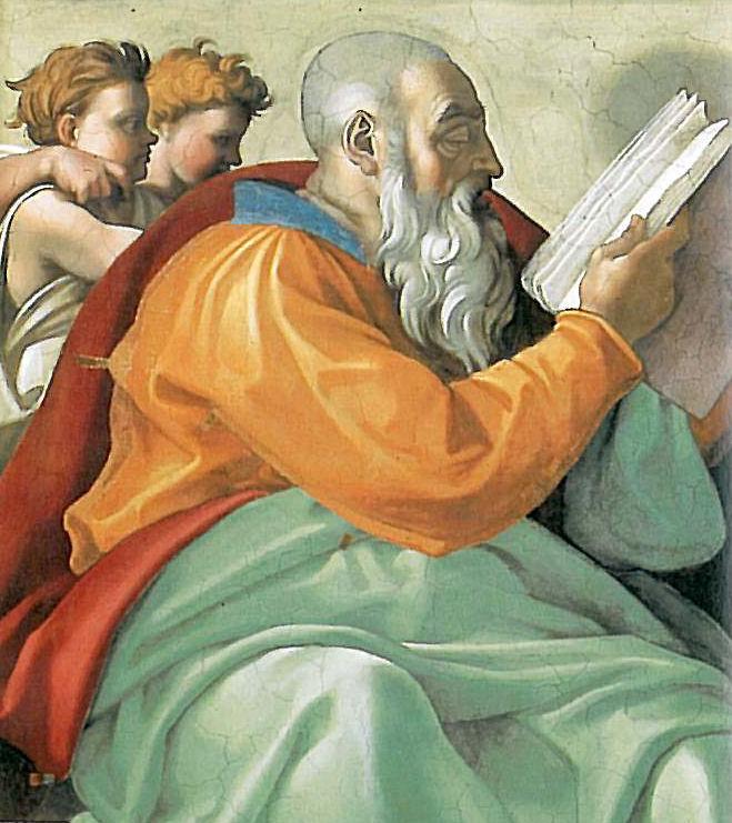 Zechariah from the Sistine Chapel