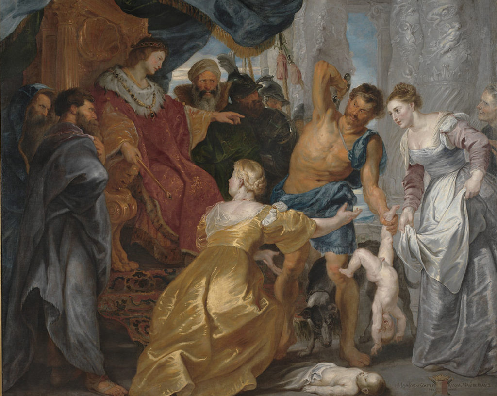The Judgment of Solomon by Peter Paul Ruben