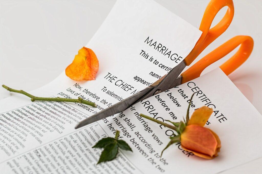 Chances of Divorce
