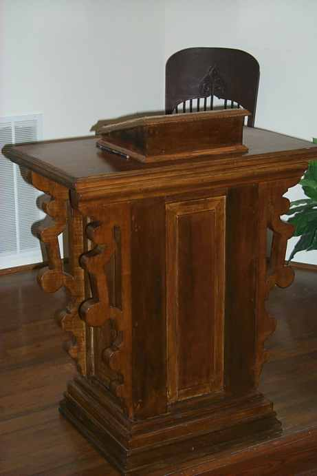 Upper Spencer Church of Christ Pulpit
